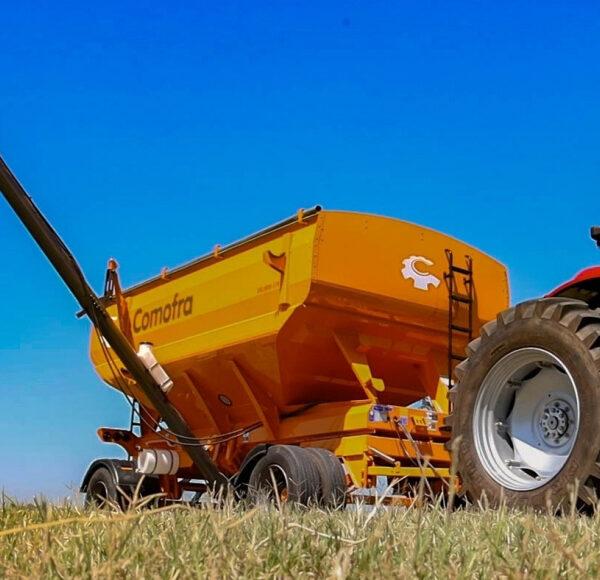 Acoplado Tolva para semillas y fertilizantes 17.50 m3 implementos agroman