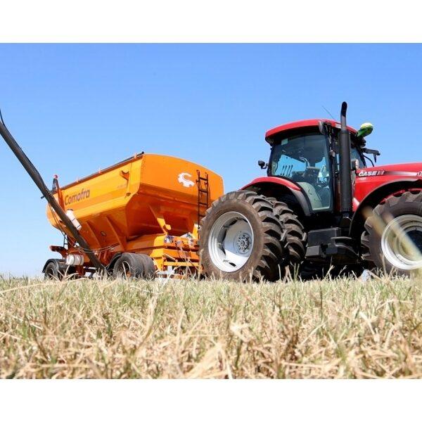 Acoplado Tolva para semillas y fertilizantes 25.00 m3 Comofra implementos agroman