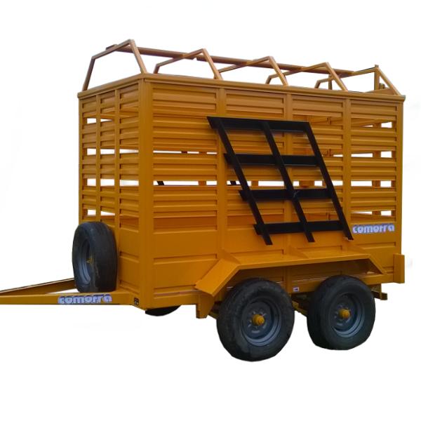 Acoplados Rurales para Transporte de Hacienda Comofra implementos agroman