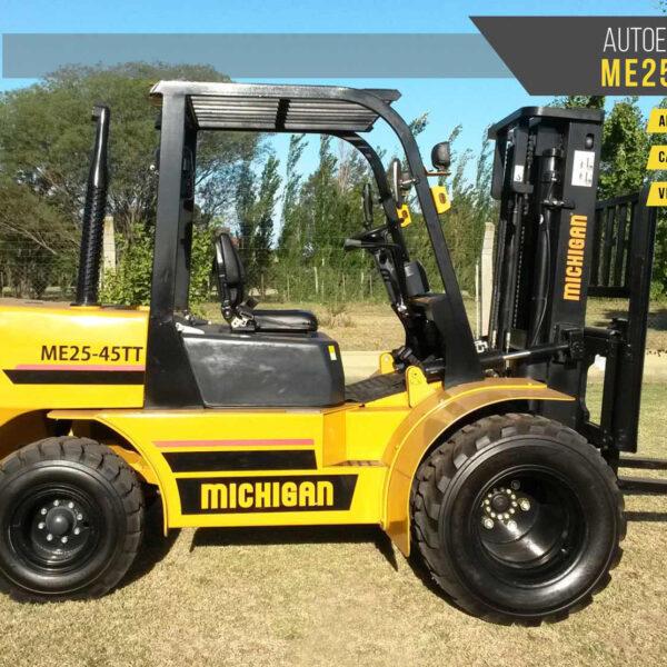 Autoelevadores Michigan ME25-45TT maquinarias agroman