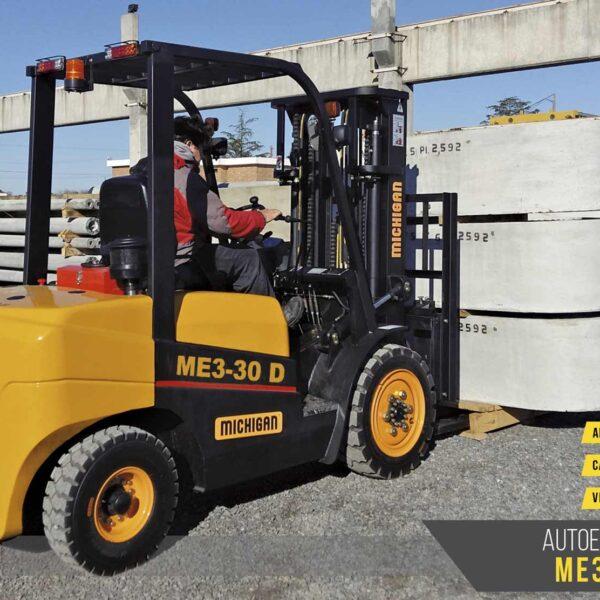 Autoelevadores Michigan ME3 30D maquinaras agroman