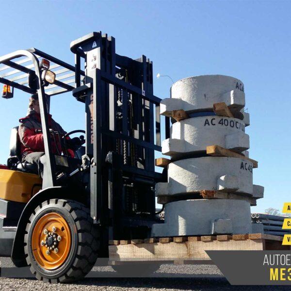 Autoelevadores Michigan ME3 45T maquinaras agroman