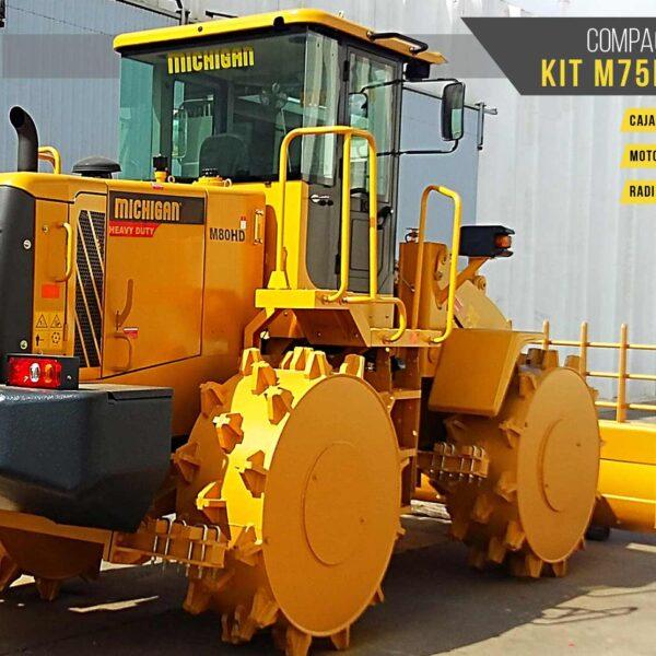 Compactador de Residuos KIT M75HD/M80HD Michigan maquinarias agroman