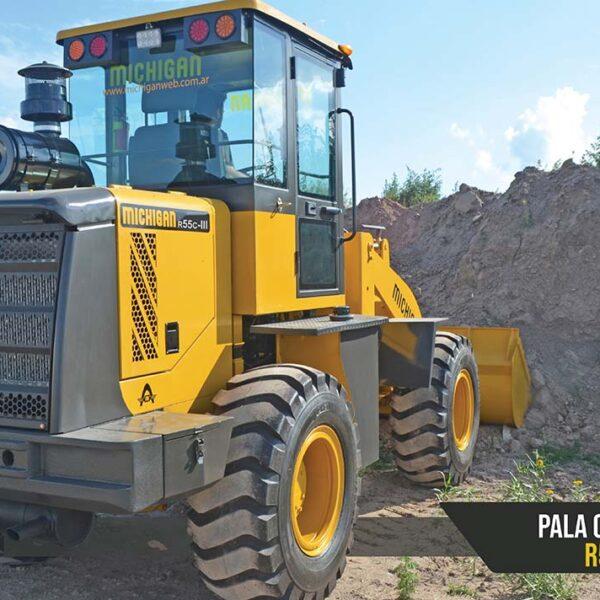 Pala cargadora frontal R55C Michigan maquinarias tractores agroman