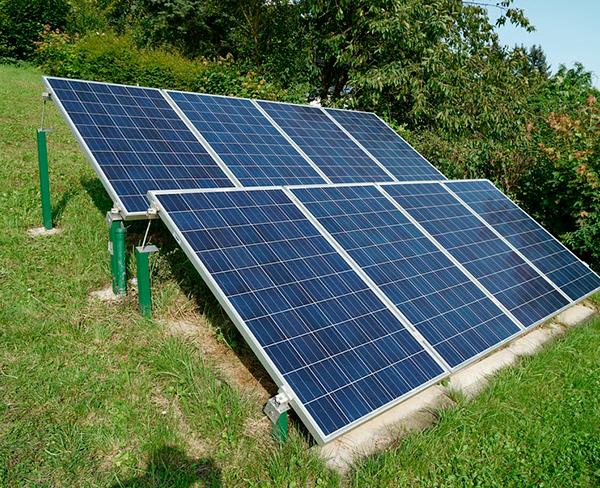 panel solar fotovoltaico agroman